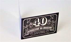 Zaproszenie na 40 urodziny Pan Dragon Z.C6-562