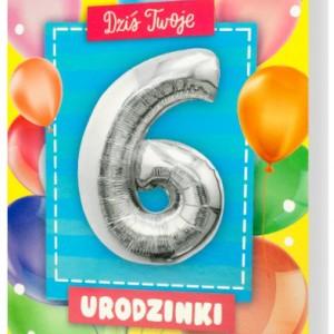 Zaproszenia na 6 urodziny
