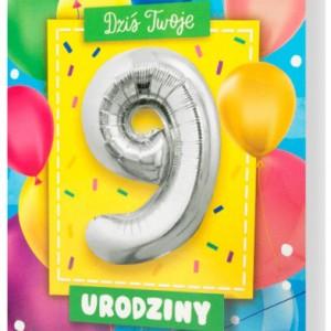 Zaproszenia na 9 urodziny