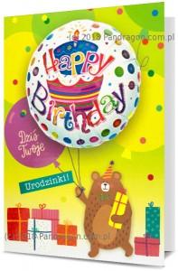 Karnet z balonem K. Balloon-16