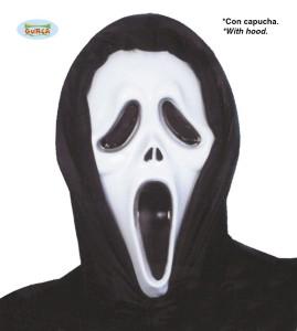 """Maski na Halloween - Maska na Halloween """"Krzyk"""" / 111-1140"""