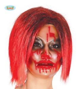 """Maski na Halloween - Maska na Halloween """"Zakrwawiona twarz"""" dla kobiety"""