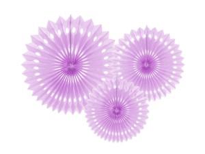 Rozety dekoracyjne - Rozety dekoracyjne, lawenda / 20-30 cm