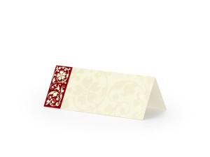 Wizytówki na stół, 10x4cm, 25 szt