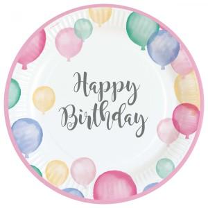 """Talerzyki """"Happy Birthday"""", 23cm"""