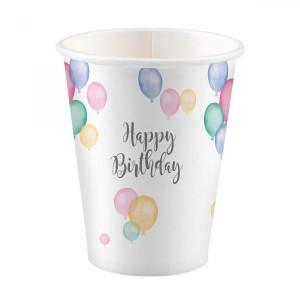 """Kubeczki """"Happy Birthday"""", 250ml"""