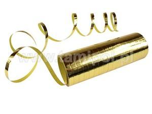 Serpentyna metalizowana, złota 12,5cm