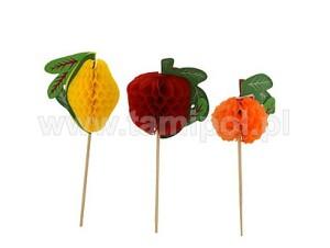 Ozdoby do deserów - Owoce na patyku