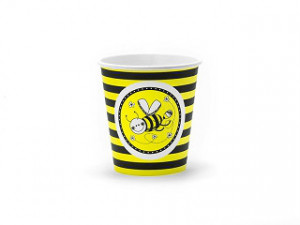 Kubeczki Pszczółka, 180 ml / 6 szt