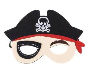 Maski Postacie - Maska Pirat / 9,5x13 cm