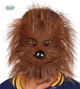 """Maski na Halloween - Maska futrzana Chewbacca """"Star Wars"""""""