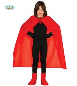 Peleryna 100 cm dla dzieci, czerwona