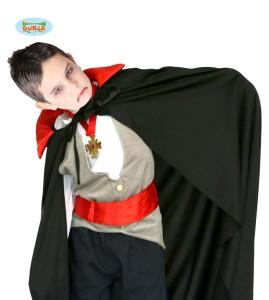 Peleryna wampira 90 cm dla dziecka, czarny