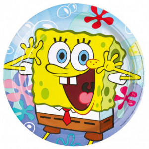 """Talerzyki """"SpongeBob"""", 23 cm"""