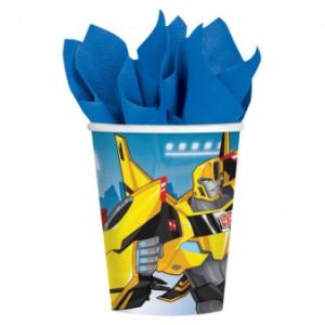 """Kubeczki papierowe """"Transformers"""", 266 ml"""