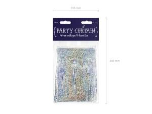 Kurtyna Party, holograficzny, 18,5x400 cm