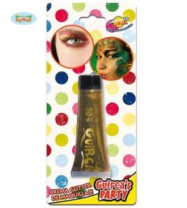 Kremy do makijażu - Brokat w kremie do makijażu, złoty / 20 ml