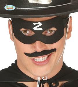 """Maski Postacie - Maska Zorro z literą """"Z"""""""