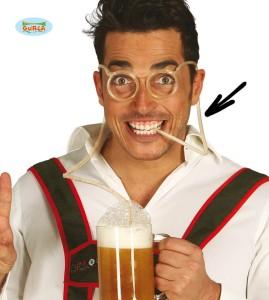 Okulary - Okulary słomki do picia