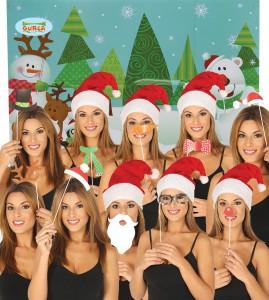 Karteczki i tabliczki do fotobudki - Rekwizyty do fotobudki na Boże Narodzenie