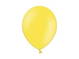 """Balony 12"""", Pastel Yellow / 100 szt"""