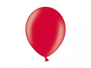 "Balony 12"", Metallic Chery Red / 100 szt"