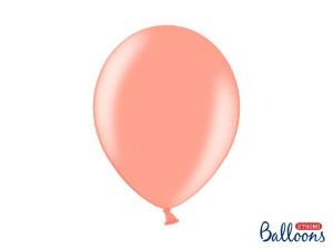 """Balony 12"""", Metallic Rose Gold/Różowe Złoto / 100 szt"""