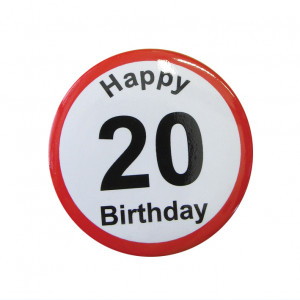 Dekoracje na 20 urodziny