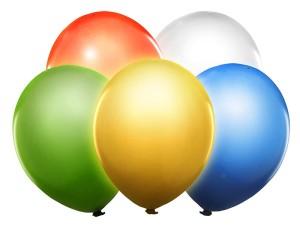"Balony LED - Balony lateksowe 12"" świecąCE LED, mix / BL12-1-000"