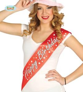 """Szarfy - Szarfa na urodziny """"Happy Birthday"""" / 18733"""
