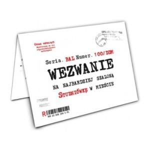 Kartki okolicznościowe pozostałe - Zaproszenia na Studniówkę / ZX5200