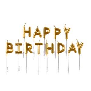 Świeczki na tort na urodziny 80+