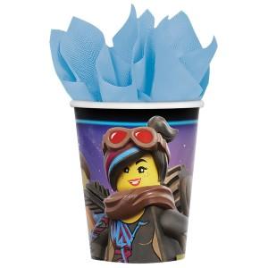 """Kubeczki z bohaterami bajek papierowe - Kubki papierowe """"Lego"""" / 266 ml"""
