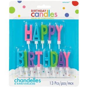 Świeczki na 4 urodziny