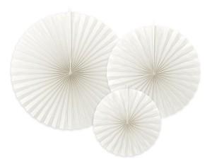 Rozety dekoracyjne - Rozety dekoracyjne, złamana biel / średnica 23,32 i 40 cm