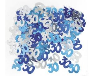 """Konfetti cyfry i liczby - Konfetti foliowe """"30""""  / 55214"""