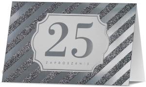Zaproszenia na rocznicę - Zaproszenia na 25 Rocznicę Ślubu / Z.STAR-30