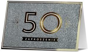 Zaproszenia na rocznicę - Zaproszenia na 50 Rocznicę Ślubu /  Z.STAR-29
