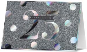 Zaproszenia na rocznicę - Zaproszenia na 25 Rocznicę Ślubu / Z.STAR-26