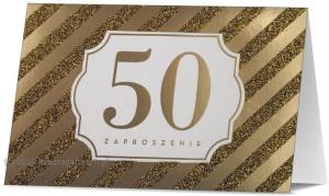 Zaproszenia na rocznicę - Zaproszenia na 50 Rocznicę Ślubu / Z.STAR-31