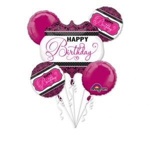 """Zestawy balonów na urodziny dorosłych - Zestaw balonów na urodziny """"Happy Birthday"""" / 3093401"""