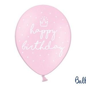 Balony na 8 urodziny