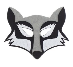 Maski Zwierzęta - Maska Wilk / 19,5x17 cm