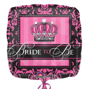 """Balony na Wieczór Panieński - Balon foliowy """"Bride to Be"""" / 43 cm"""