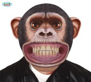 Maski Zwierzęta - Gigantyczna maska Szympans