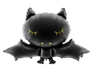 """Balony foliowe zwierzątka - Balon na Halloween """"Nietoperz"""" / 80x52 cm"""