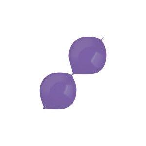 """Balony lateksowe dla profesjonalistów Decorator - Balony lateksowe E-Link """"Decorator"""" Metallic Purple / 6""""-15 cm"""
