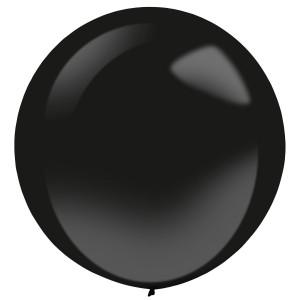 """Balony lateksowe dla profesjonalistów Decorator - Balony lateksowe """"Decorator"""" Fashion Jet Black / 24""""-60 cm"""