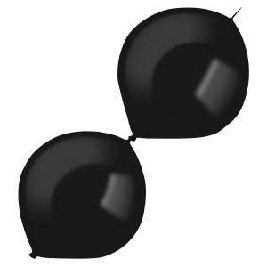 """Balony lateksowe dla profesjonalistów Decorator - Balony lateksowe E-Link """"Decorator"""" Fashion Jet Black / 12""""-30 cm"""