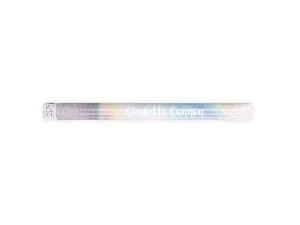 Konfetti wystrzałowe paski - Tuba wystrzałowa konfetti - opalizujące konfetti / 60 cm